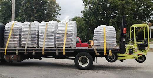 Wood Pellets delivered